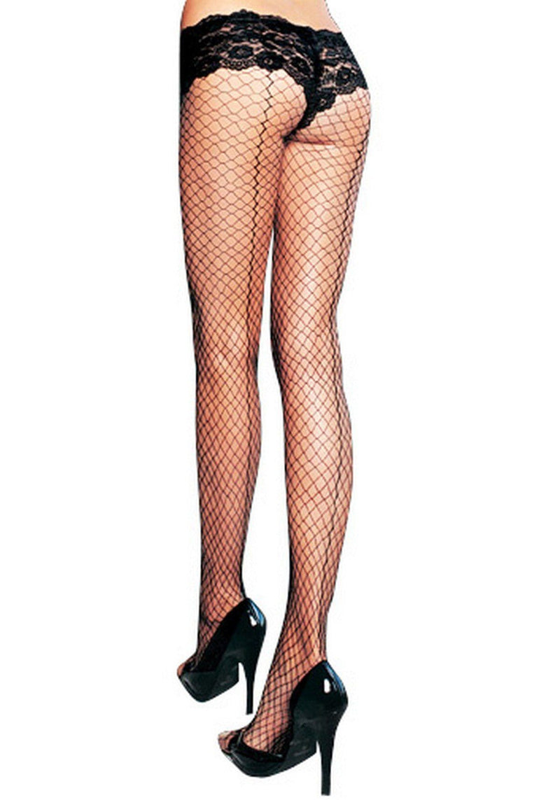 2271L  Industrial Net Black Fishnet Pantyhose - Sale BDSM, Bondage Gear, Adult Toys, Bondage Sex, Orgasm Belt, Male Chastity, Gags. Bondage Slave Collars, Wrist Cuffs, Submissive, Dominant, Master, Mistress, Crossdresser, Sub-Shop Bondage and Fetish Superstore