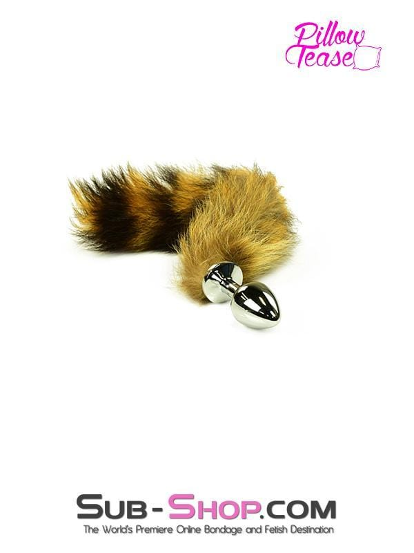 Good Pet Foxy Furry Tail Steel Butt Plug - Sale BDSM, Bondage Gear, Adult Toys, Bondage Sex, Orgasm Belt, Male Chastity, Bondage Gag. Bondage Slave Collars, Wrist Cuffs, Submissive, Dominant, Master, Mistress, Cross Dressing, Sex Toys, Bondage Sale, Bondage Clearance, MEGA Deal Bondage, Sub-Shop Bondage and Fetish Superstore