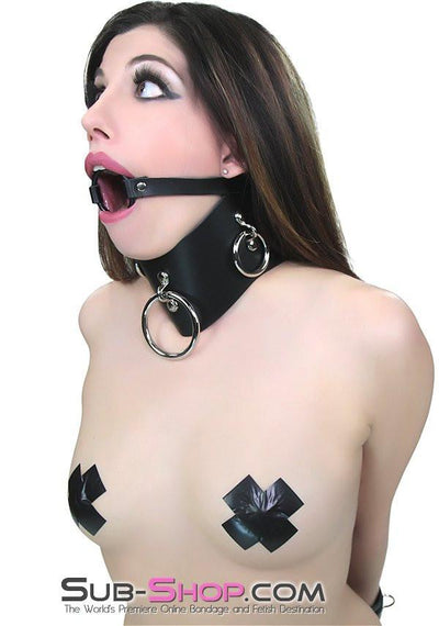 636A      Locking Slave Trainer Posture Collar - Sale BDSM, Bondage Gear, Adult Toys, Bondage Sex, Orgasm Belt, Male Chastity, Gags. Bondage Slave Collars, Wrist Cuffs, Submissive, Dominant, Master, Mistress, Crossdresser, Sub-Shop Bondage and Fetish Superstore
