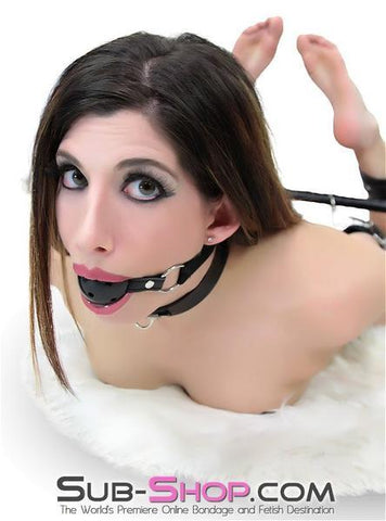 2408DL       Black Beginner's Fantasy Breather Ball Gag - <b>MEGA Deal</b> - Sale BDSM, Bondage Gear, Adult Toys, Bondage Sex, Orgasm Belt, Male Chastity, Gags. Bondage Slave Collars, Wrist Cuffs, Submissive, Dominant, Master, Mistress, Crossdresser, Sub-Shop Bondage and Fetish Superstore