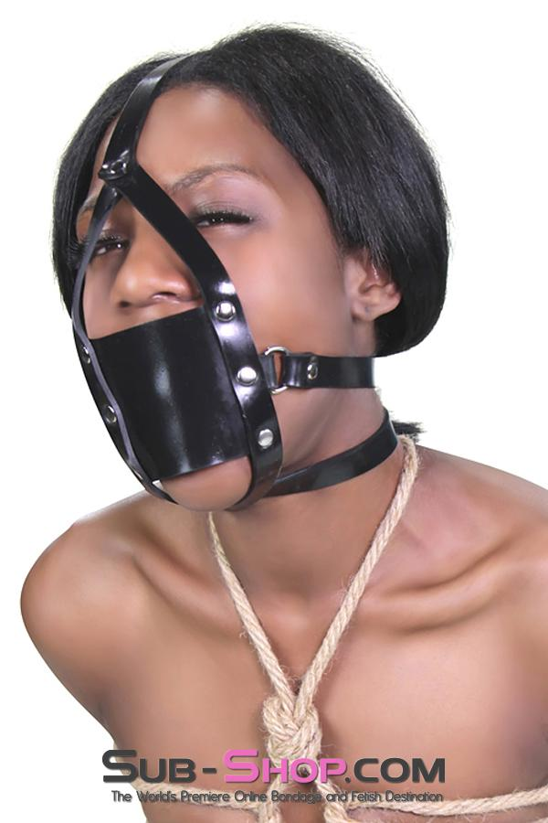 240A      Rubber Muffled Moans Panel Ball Gag Trainer - Sale BDSM, Bondage Gear, Adult Toys, Bondage Sex, Orgasm Belt, Male Chastity, Gags. Bondage Slave Collars, Wrist Cuffs, Submissive, Dominant, Master, Mistress, Crossdresser, Sub-Shop Bondage and Fetish Superstore