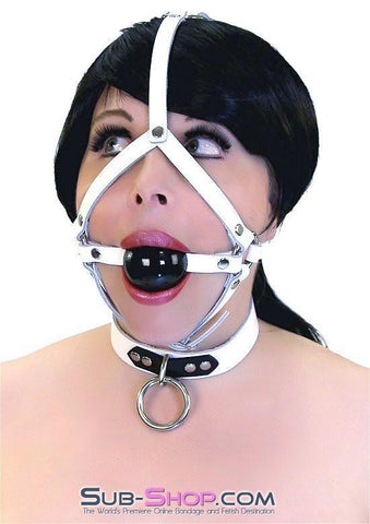 1615A     Sweet Subjugation Leather Choker Collar - Sub-Shop.comCollar - 5