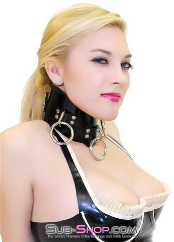 2661A   Rubber 3 Ring Posture Collar - Sub-Shop.comCollar - 1