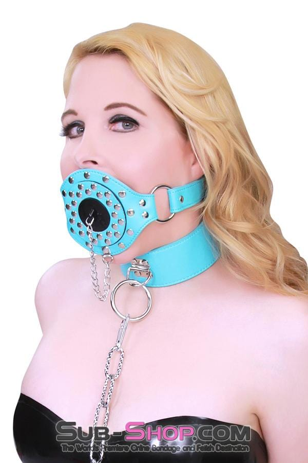 Plug-Her Locking Diamond Blue Plug Gag - Sale BDSM, Bondage Gear, Adult Toys, Bondage Sex, Orgasm Belt, Male Chastity, Bondage Gag. Bondage Slave Collars, Wrist Cuffs, Submissive, Dominant, Master, Mistress, Cross Dressing, Sex Toys, Bondage Sale, Bondage Clearance, MEGA Deal Bondage, Sub-Shop Bondage and Fetish Superstore