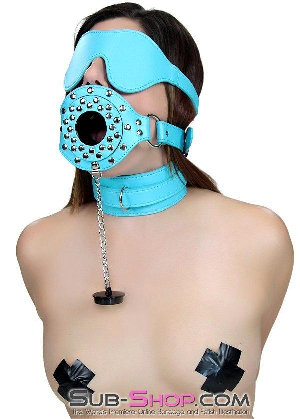 2628RS    Cloud Nine Diamond Blue Velcro Blindfold - <b>MEGA Deal</b> - Sale BDSM, Bondage Gear, Adult Toys, Bondage Sex, Orgasm Belt, Male Chastity, Gags. Bondage Slave Collars, Wrist Cuffs, Submissive, Dominant, Master, Mistress, Crossdresser, Sub-Shop Bondage and Fetish Superstore