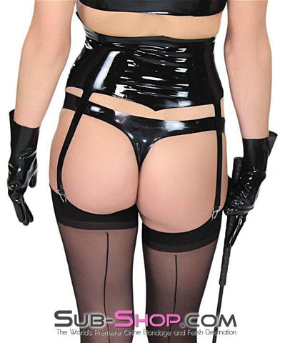 2925D      Latex Rubber Women's Super Mini Brief - Sub-Shop Bondage and Fetish Superstore