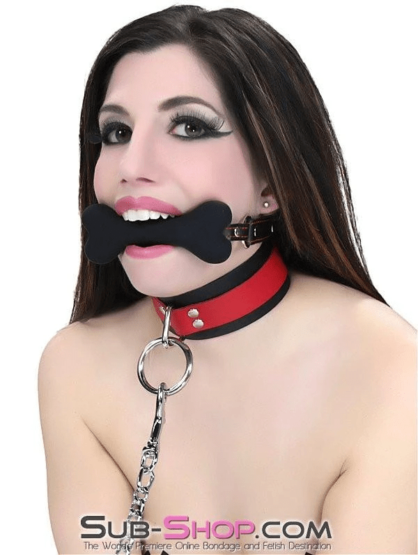 L'il Pup Small Black Silicone Puppy Play Bone Gag - Sale BDSM, Bondage Gear, Adult Toys, Bondage Sex, Orgasm Belt, Male Chastity, Bondage Gag. Bondage Slave Collars, Wrist Cuffs, Submissive, Dominant, Master, Mistress, Cross Dressing, Sex Toys, Bondage Sale, Bondage Clearance, MEGA Deal Bondage, Sub-Shop Bondage and Fetish Superstore