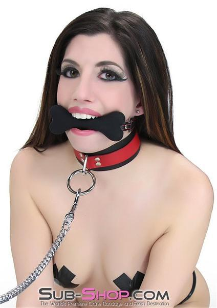 2963DL       L'il Pup Small Black Silicone Puppy Play Bone Gag - <b>MEGA Deal</b> - Sale BDSM, Bondage Gear, Adult Toys, Bondage Sex, Orgasm Belt, Male Chastity, Gags. Bondage Slave Collars, Wrist Cuffs, Submissive, Dominant, Master, Mistress, Crossdresser, Sub-Shop Bondage and Fetish Superstore