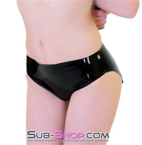 2973D      Latex Rubber Unisex Mini Briefs - Sale BDSM, Bondage Gear, Adult Toys, Bondage Sex, Orgasm Belt, Male Chastity, Gags. Bondage Slave Collars, Wrist Cuffs, Submissive, Dominant, Master, Mistress, Crossdresser, Sub-Shop Bondage and Fetish Superstore