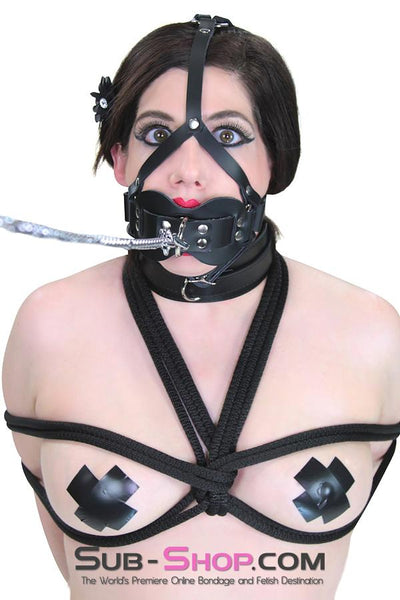 3413A      Double Mouth Guard Gag Trainer - Sale BDSM, Bondage Gear, Adult Toys, Bondage Sex, Orgasm Belt, Male Chastity, Gags. Bondage Slave Collars, Wrist Cuffs, Submissive, Dominant, Master, Mistress, Crossdresser, Sub-Shop Bondage and Fetish Superstore