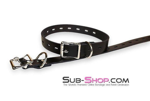 3756A   Locking Bondage Strap, Black - <b>4 Sizes!</b> - Sub-Shop.comStraps - 5