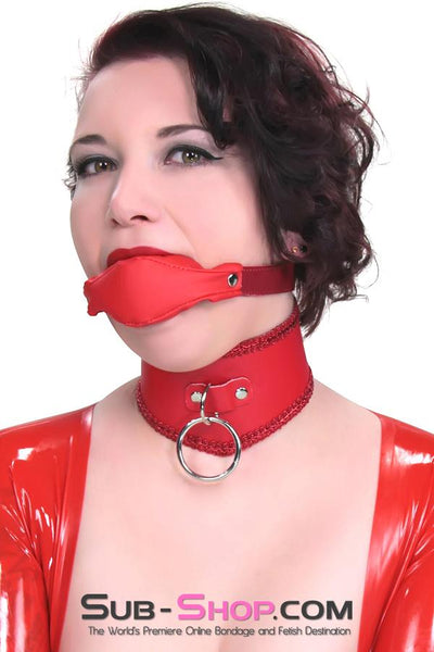 1814DL      Cherry Girl Chevron Slave Collar with Red Braiding - Sale BDSM, Bondage Gear, Adult Toys, Bondage Sex, Orgasm Belt, Male Chastity, Gags. Bondage Slave Collars, Wrist Cuffs, Submissive, Dominant, Master, Mistress, Crossdresser, Sub-Shop Bondage and Fetish Superstore