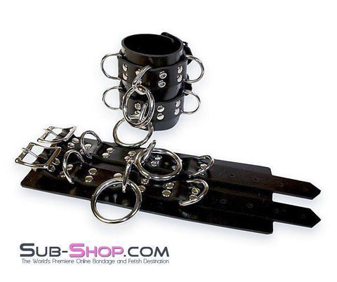 4777A     Rubber Total Control Wrist Bondage Cuffs - Sub-Shop.comWrist and Ankle Bondage - 4