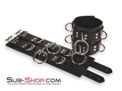 4777A     Rubber Total Control Wrist Bondage Cuffs - Sub-Shop.comWrist and Ankle Bondage - 13