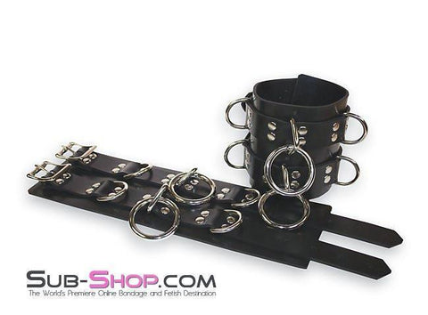 4777A     Rubber Total Control Wrist Bondage Cuffs - Sale BDSM, Bondage Gear, Adult Toys, Bondage Sex, Orgasm Belt, Male Chastity, Gags. Bondage Slave Collars, Wrist Cuffs, Submissive, Dominant, Master, Mistress, Crossdresser, Sub-Shop Bondage and Fetish Superstore
