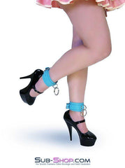 4792A    Tied & True Tiffany Blue Bondage Ankle Cuffs - Sub-Shop.comWrist and Ankle Bondage - 1