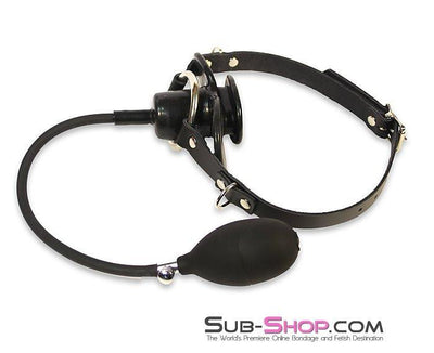1494A      Butterfly or Penis Bulb Gag Strap - Sale BDSM, Bondage Gear, Adult Toys, Bondage Sex, Orgasm Belt, Male Chastity, Gags. Bondage Slave Collars, Wrist Cuffs, Submissive, Dominant, Master, Mistress, Crossdresser, Sub-Shop Bondage and Fetish Superstore