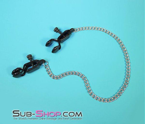 526MH      Squeeze Play Blackline Wide Adjustable Nipple Clamps - Sub-Shop.comNipple Clamp - 8