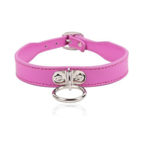 5751RS     Hot Under the Collar Dainty Ring Bondage Collar - <b>MEGA Deal</b>