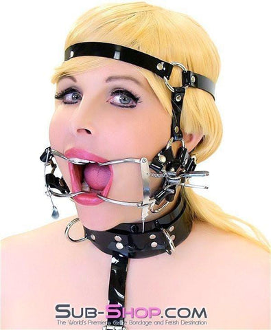 587A      Wide Open Trainer Style Adjustable Mouth Spreader Gag - Sub-Shop.comGags - 5