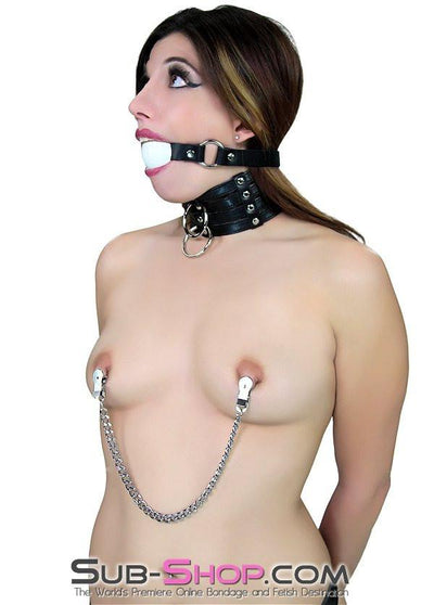 1648DL      Naked Lust Strappy Tall Collar and Leash Set - Sale BDSM, Bondage Gear, Adult Toys, Bondage Sex, Orgasm Belt, Male Chastity, Gags. Bondage Slave Collars, Wrist Cuffs, Submissive, Dominant, Master, Mistress, Crossdresser, Sub-Shop Bondage and Fetish Superstore
