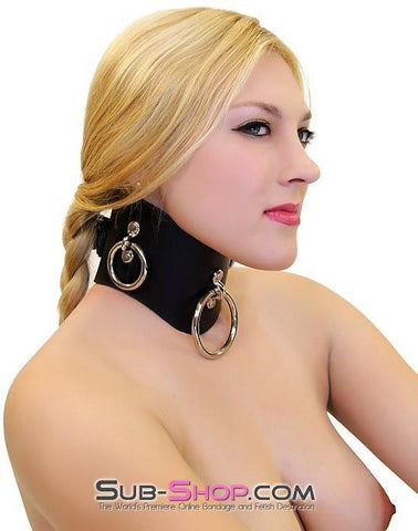 636A      Locking Slave Trainer Posture Collar - Sub-Shop.comCollar - 2