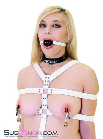671ZG    Jingle Belles Adjustable Belled Nipple Clamps - Sub-Shop.comNipple Clamp - 6