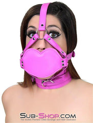6746RS     Blow Job Trainer Hot Pink Thick Penis Gag Trainer