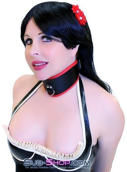 674HS    Prized Pet Red Padded Locking Posture Collar - <b>Deal FRENZY!</b> - Sale BDSM, Bondage Gear, Adult Toys, Bondage Sex, Orgasm Belt, Male Chastity, Gags. Bondage Slave Collars, Wrist Cuffs, Submissive, Dominant, Master, Mistress, Crossdresser, Sub-Shop Bondage and Fetish Superstore