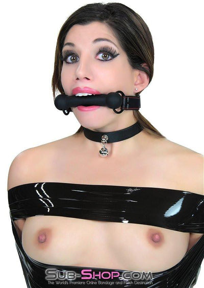 6782DL    Cherished Pet Dainty Bell Submissive Collar - Sale BDSM, Bondage Gear, Adult Toys, Bondage Sex, Orgasm Belt, Male Chastity, Gags. Bondage Slave Collars, Wrist Cuffs, Submissive, Dominant, Master, Mistress, Crossdresser, Sub-Shop Bondage and Fetish Superstore