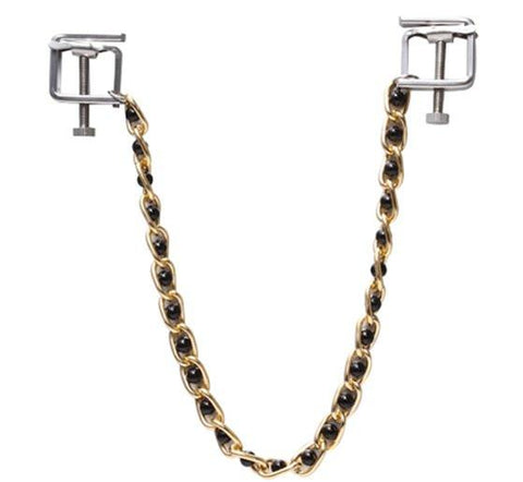 6820MH      Nipple Press Black Beaded Chain Nipple Clamps - Sub-Shop.comNipple Clamp - 3