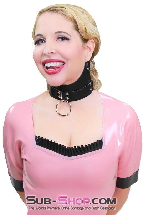 Servitude Posture Collar - Sale BDSM, Bondage Gear, Adult Toys, Bondage Sex, Orgasm Belt, Male Chastity, Bondage Gag. Bondage Slave Collars, Wrist Cuffs, Submissive, Dominant, Master, Mistress, Cross Dressing, Sex Toys, Bondage Sale, Bondage Clearance, MEGA Deal Bondage, Sub-Shop Bondage and Fetish Superstore