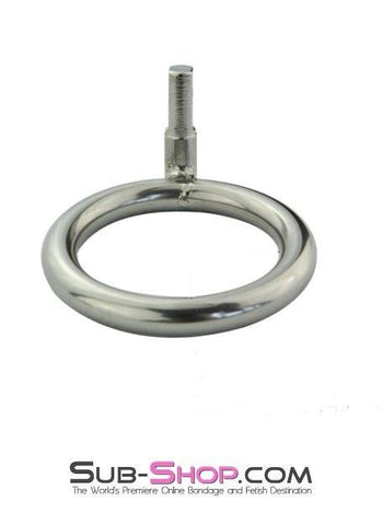 "7024AR      Replacement Round Style Chastity Cock Ring, 2"" - Sale BDSM, Bondage Gear, Adult Toys, Bondage Sex, Orgasm Belt, Male Chastity, Gags. Bondage Slave Collars, Wrist Cuffs, Submissive, Dominant, Master, Mistress, Crossdresser, Sub-Shop Bondage and Fetish Superstore"