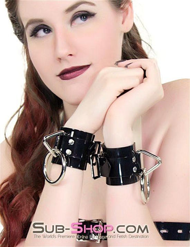 703A       Something Shiny Wrist Cuffs - Sub-Shop.comWrist and Ankle Bondage - 2