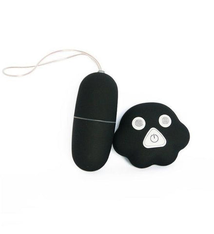 7045AE      L'il Black Pet Remote Control Vibrating Egg - Sub-Shop.comVibrators