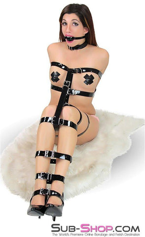 705A  Something Shiny Bondage Strap - <b>6 Sizes!</b> - Sub-Shop.comBondage - 7