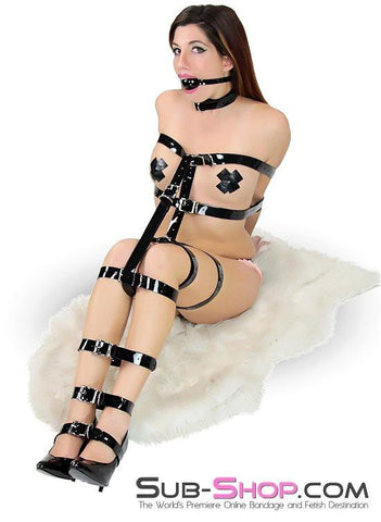 705A  Something Shiny Bondage Strap - <b>6 Sizes!</b> - Sub-Shop.comBondage - 1