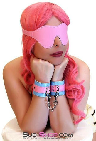8948DL      Paradise Wrist Cuffs with Chained Connection Clips - <b>Deal FRENZY!</b> - Sub-Shop.comDeal FRENZY - 3