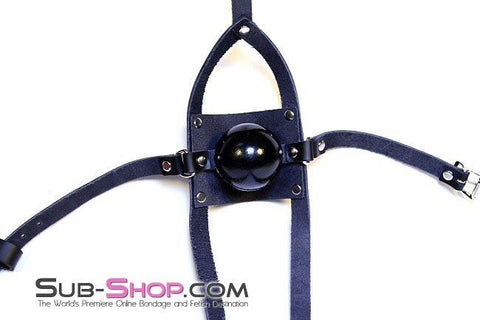 "7169A      Well Stuffed 2"" Large Ball Gag Trainer - Sub-Shop.comGags - 2"