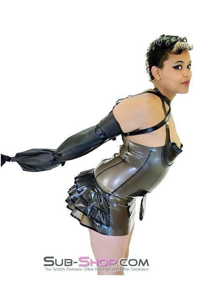 7195HS      Single Glove Lacing Armbinder Sleeve - Sale BDSM, Bondage Gear, Adult Toys, Bondage Sex, Orgasm Belt, Male Chastity, Gags. Bondage Slave Collars, Wrist Cuffs, Submissive, Dominant, Master, Mistress, Crossdresser, Sub-Shop Bondage and Fetish Superstore