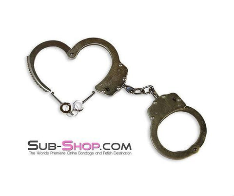 6955K      Professional Double Locking Steel Handcuffs