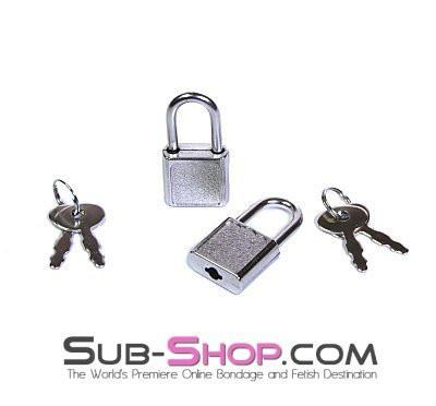 760A   Pair of Mini Charm Bondage Padlocks - Sub-Shop.comPadlock - 1