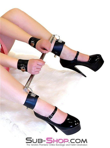 771HS  Bottoms Up Spreader Bar w/ Wrist and Ankle Cuffs - Sub-Shop.comSpreader Bar - 1