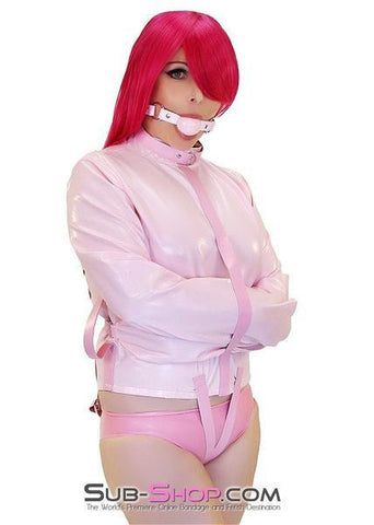 790MH      Drive Me Crazy Pink Straitjacket-1 - Sub-Shop.comStraightjacket - 1