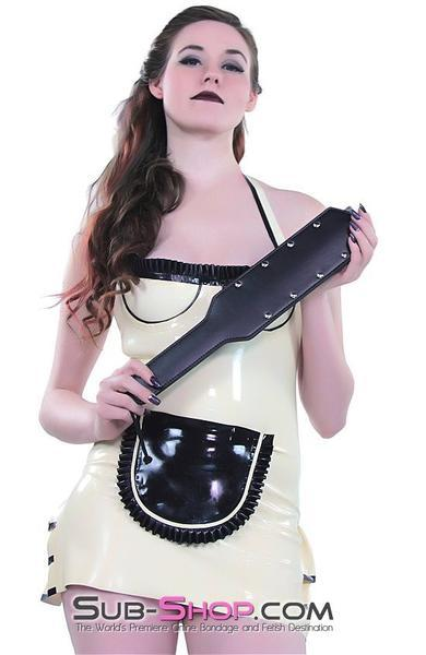 "853DL      Receiving End 16"" Riveted Paddle - <b>MEGA Deal!</b> - Sale BDSM, Bondage Gear, Adult Toys, Bondage Sex, Orgasm Belt, Male Chastity, Gags. Bondage Slave Collars, Wrist Cuffs, Submissive, Dominant, Master, Mistress, Crossdresser, Sub-Shop Bondage and Fetish Superstore"