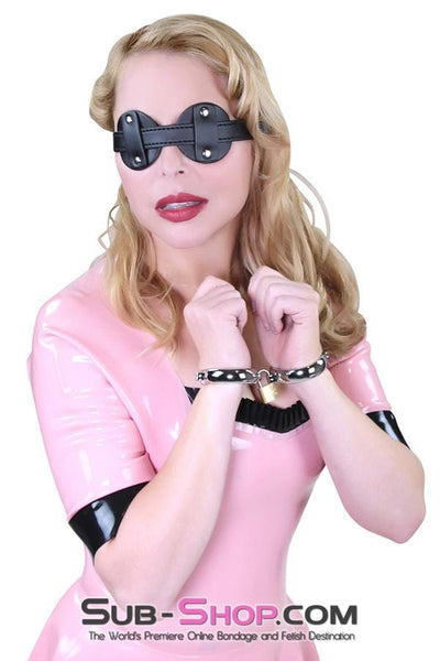 Blinder Mask - Sale BDSM, Bondage Gear, Adult Toys, Bondage Sex, Orgasm Belt, Male Chastity, Bondage Gag. Bondage Slave Collars, Wrist Cuffs, Submissive, Dominant, Master, Mistress, Cross Dressing, Sex Toys, Bondage Sale, Bondage Clearance, MEGA Deal Bondage, Sub-Shop Bondage and Fetish Superstore