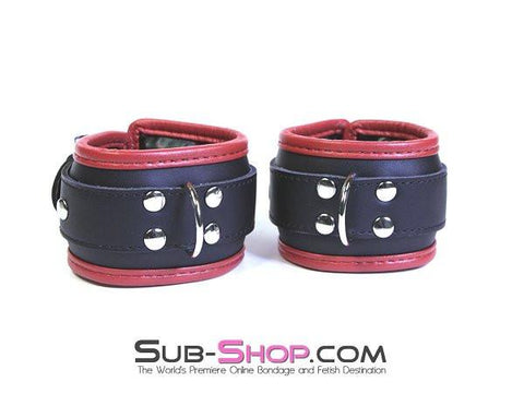 8761BD  Slave to Fashion Lined Wrist Cuffs - Sub-Shop.comCuffs - 4