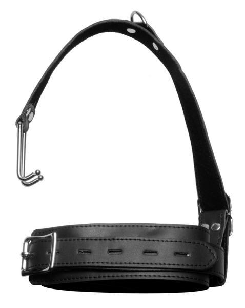 8837HS      Japanese Bondage Locking Collar & Nose Hook Restraint System - <b>MEGA Deal</b> - Sale BDSM, Bondage Gear, Adult Toys, Bondage Sex, Orgasm Belt, Male Chastity, Gags. Bondage Slave Collars, Wrist Cuffs, Submissive, Dominant, Master, Mistress, Crossdresser, Sub-Shop Bondage and Fetish Superstore