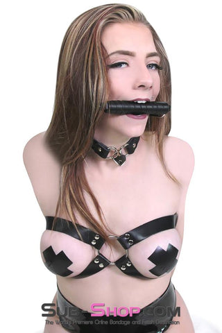 8827HS      A Bit of Fun Wrapped Bit Gag - <b>MEGA Deal</b> - Sale BDSM, Bondage Gear, Adult Toys, Bondage Sex, Orgasm Belt, Male Chastity, Gags. Bondage Slave Collars, Wrist Cuffs, Submissive, Dominant, Master, Mistress, Crossdresser, Sub-Shop Bondage and Fetish Superstore