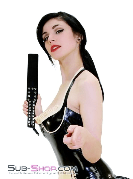 8844HS      Beat You To It Bondage Thick Slapper Style Paddle - <b>MEGA Deal</b> - Sale BDSM, Bondage Gear, Adult Toys, Bondage Sex, Orgasm Belt, Male Chastity, Gags. Bondage Slave Collars, Wrist Cuffs, Submissive, Dominant, Master, Mistress, Crossdresser, Sub-Shop Bondage and Fetish Superstore